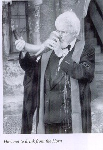 Oliver Rackham and the Corpus horn