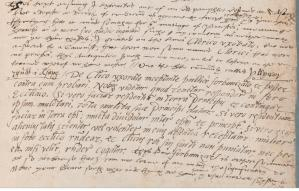 Letter from William Salesbury to Matthew Parker (CCCC MS 114, p. 491)